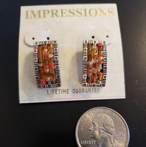🔥3/$20 Rectangular Pierced Fashion Earings
